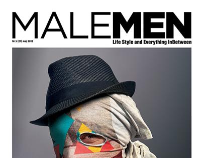 MALEMEN MAGAZINE COVERS 2011-2015