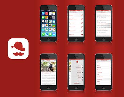 News reader application!