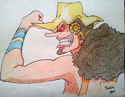 Usopp the Sniper from One Piece