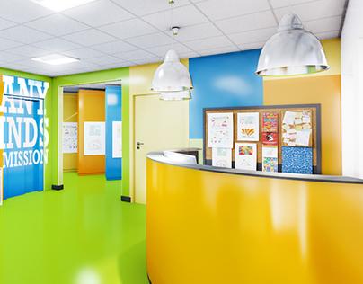 Adıgüzel Elementary School Lobby II