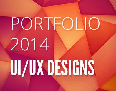 Portfolio 2014 UI/UX