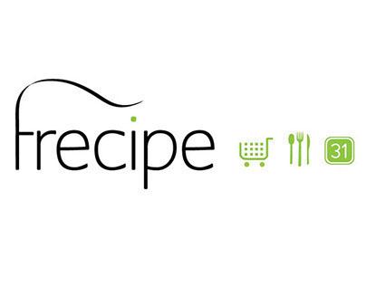 Frecipe // UI/UX app design