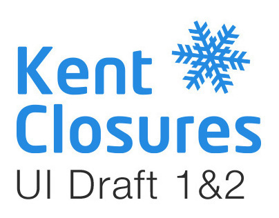 Kent Closures UI/UX re-skin draft proposal 1&2