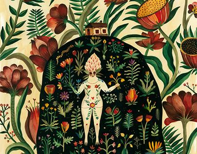 Summer in Lisboa - watercolor paintings