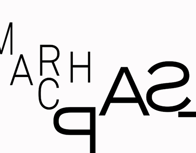 """""""March Past"""" Typography Video"""