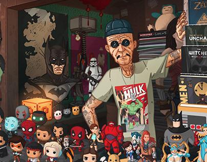 Uncle Cho's shop