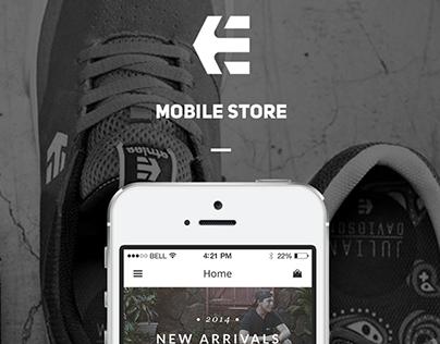 Etnies - Mobile Store Concept