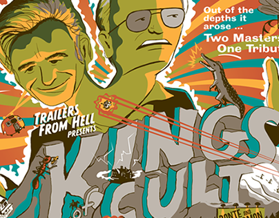 KINGS OF CULT Show Poster for Corman/Dante HCG Show