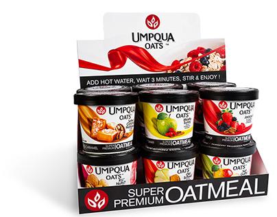 Umpqua Oats Package Redesign