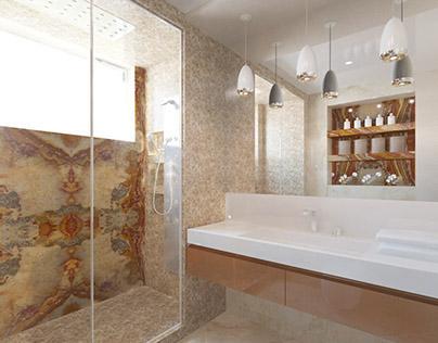 interior design bathroom Crimea