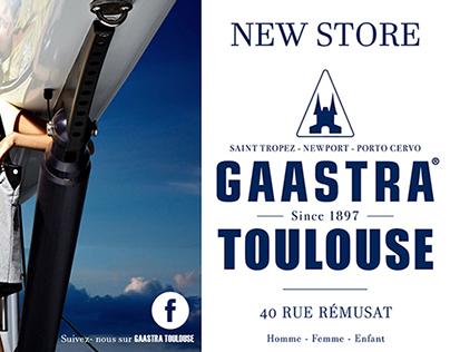 Flyer pour GAASTRA Nouvelle boutique sur Toulouse