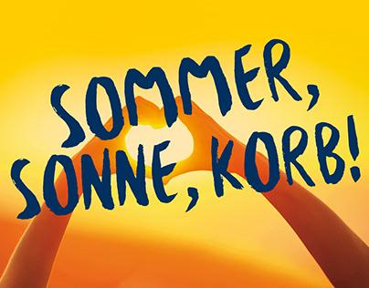 Sommer, Sonne, Korb!