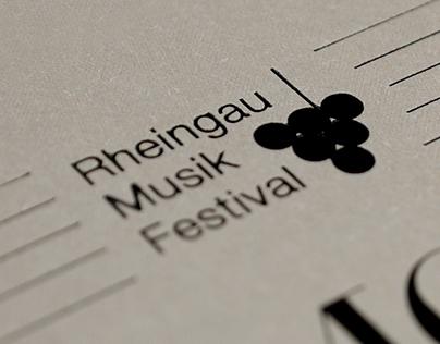 Rheingau Music Festival Concert Invitation