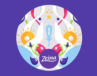 Zeina's website illustrations