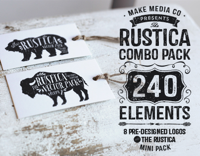 The Rustica Vector Combo Pack + Bonus