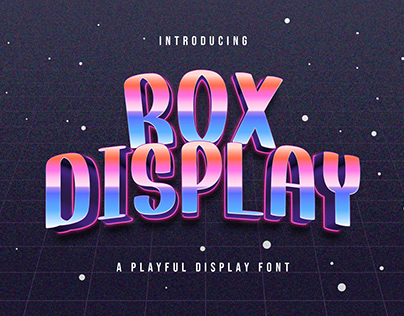 Rox Display - Playful Display Font