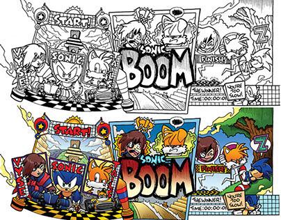 Archie Comics/SEGA Sonic the Hedgehog: Off-Panels
