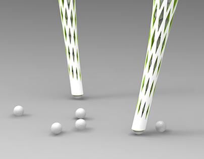 Catcher golf balls