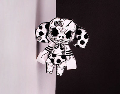 Monster Series Paper Toy