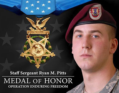 The Official Medal of Honor: Ryan Pitts