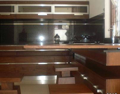 A Kitchen Interior at Wattala.