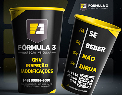 Copo Personalizado - Fórmula 3