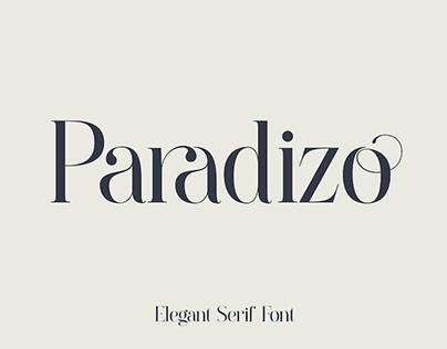 PARADIZO - FREE LIGATURE SERIF FONT