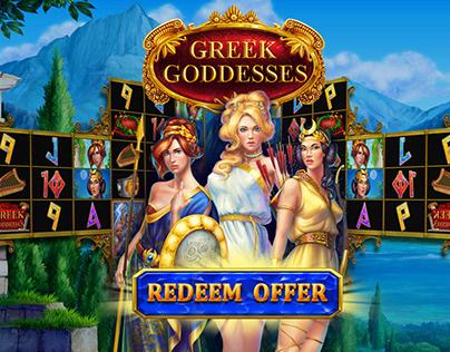 "Online slot machine – ""Greek Goddesses"""