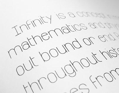 Infinity — Free Font