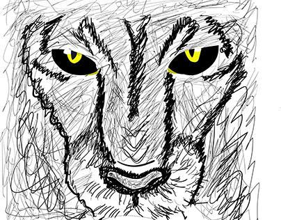 Pantera - Drawing