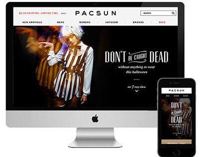 Halloween Lookbook for PacSun