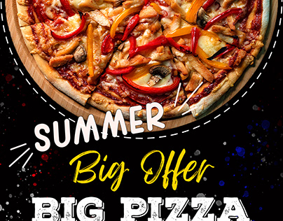 Social Media Post # Pizza Offer