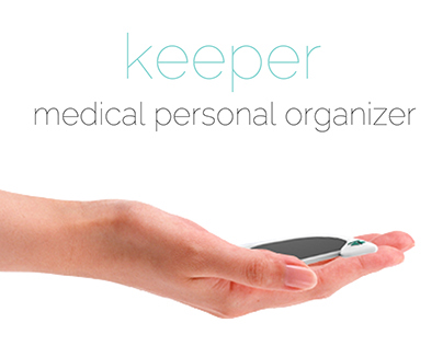 Keeper - medical personal organizer