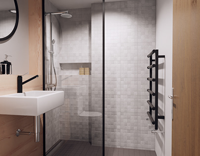 Bathroom design visualization
