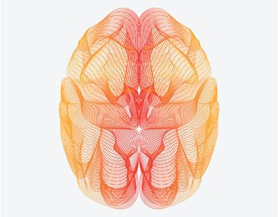 Wireframe Brain