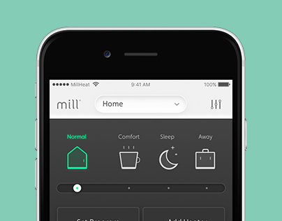 Mill Wireless Heater App