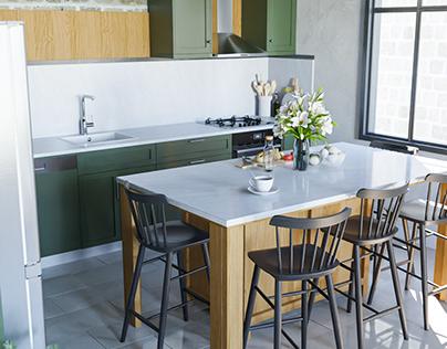Kitchen_Archviz_Blender 3