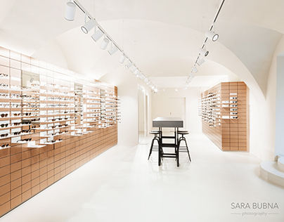 Architecture/Shop photography for VIU Eyewear Salzburg