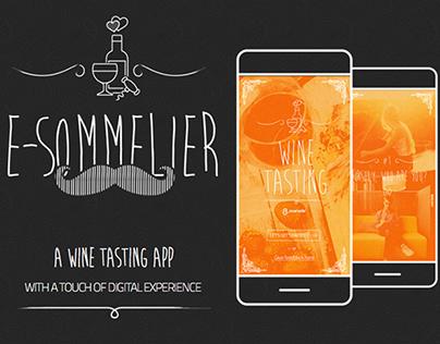 E-Sommelier - A wine tasting app
