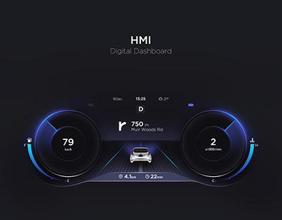 HMI-Digital Dashboard