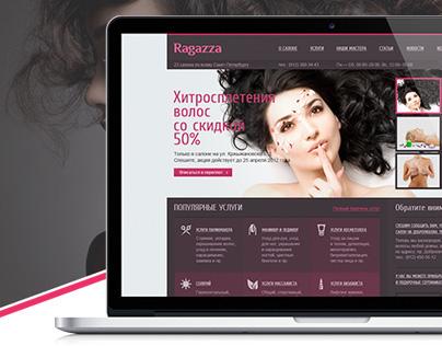 "Ready-to-site beauty salon ""Ragazza"""