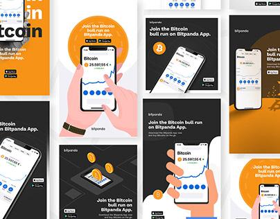 Bitpanda Social Media Design
