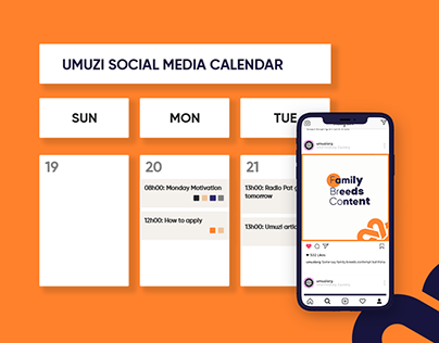 Umuzi Social Media Calendar