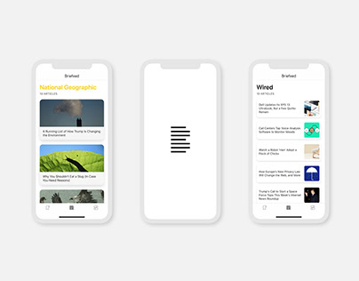 Briefeed · Naming, identity and iOS App.