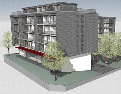 Garden City Apartment Block