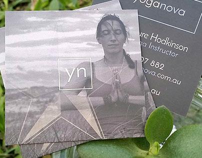 Yoga Nova - Business Cards - 5th Ink Spot UV