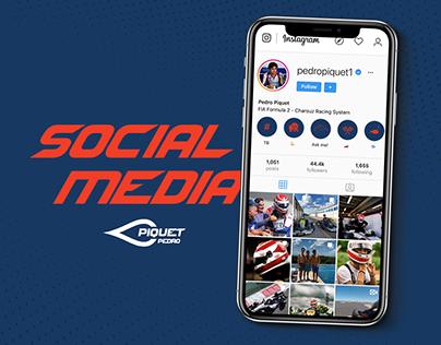 Social Media Pedro Piquet