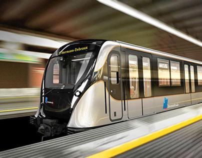 MIVB - Metro M7 Brussels