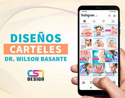 Carteles para Instagram: Dr. Wilson Basante