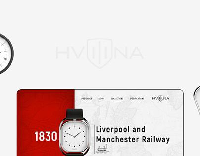 Hvilina Landing page